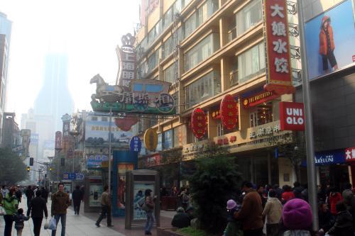 带着索尼GPS扫街在上海