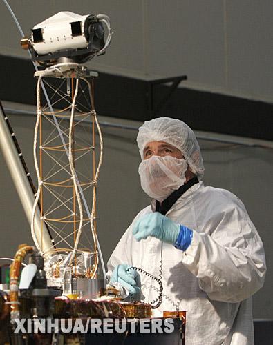 组图:凤凰号火星探测器计划今年8月发射
