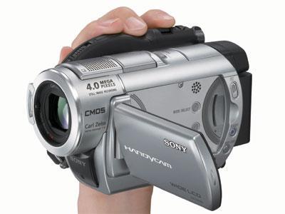 全面提升画质:索尼推出4款DVD数码摄像机