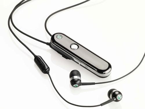 我爱出众音效 索爱新立体声蓝牙耳机曝光 - 智