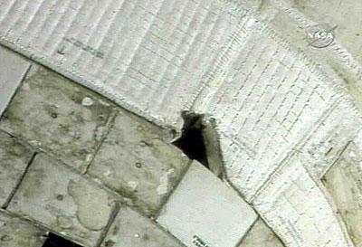 美宇航局称亚特兰蒂斯号机身裂痕无大碍(图)