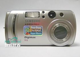 三星V4最小巧的三星数码相机评测