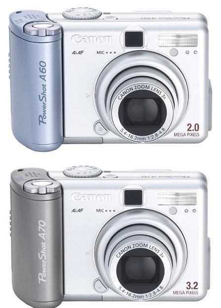 最后的清货千元数码相机佳能A60
