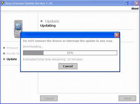索爱K700软件升级用户可直接在网站操作(2)