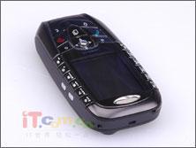 西门子黑艳麦克拉伦版SX1手机高清晰图赏