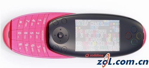 滑盖、拍照、超小--沃达丰推出概念游戏手机(2)
