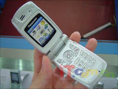 杭州市场松下自动翻盖拍照手机X400上市