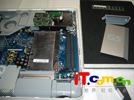 精密台式机赏析:imac g5拆机照片细看(4)