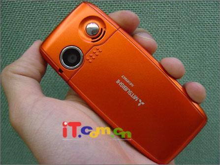 广州市场三菱直板手机M350报价破两千(图)