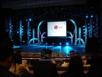 俊男美女齐亮相LG韩国明星演唱会图文报道