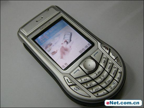 智能经典诺基亚百万像素拍照手机6630试用