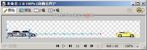 Fireworks制作GIF动画广告BANNER(多图)(4)