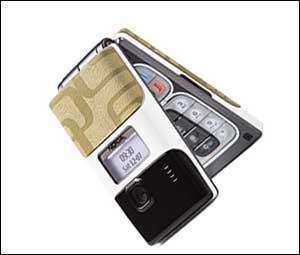上海市场诺基亚折叠拍照手机7200降至2559