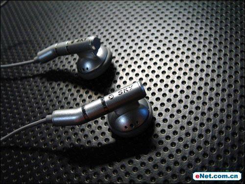 百万像素手机也带线控MP3韩国Sky新机亮相