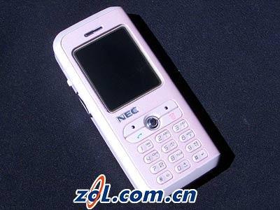 MM最爱超薄拍照NECN100手机北京狂降300