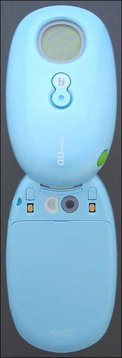 可爱彩蛋日系新款CDMA折叠手机精彩图赏