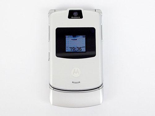 轻薄无敌手摩托罗拉全金属旗舰手机V3评测