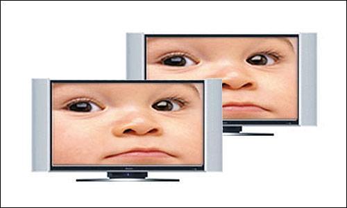 数字电视液晶部分:海信TLM3018