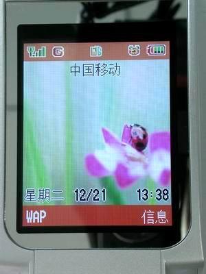 让你亲眼目睹绚烂的画面三菱M800手机热评