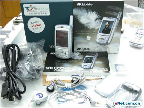 韩系百万像素滑盖VK900手机真机酷图赏