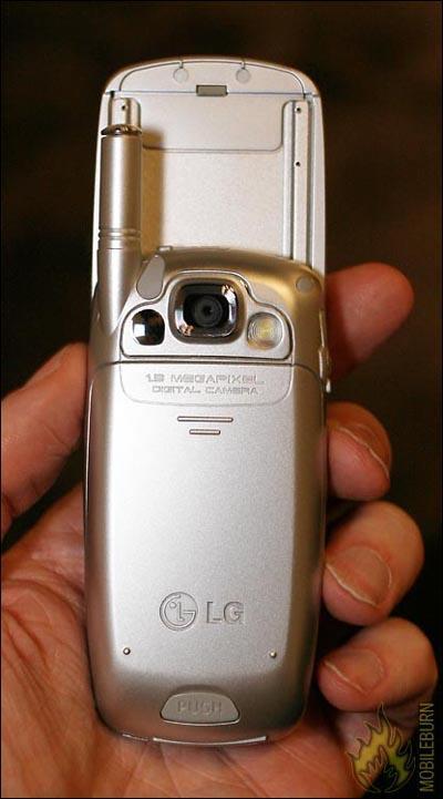 百万像素女性滑盖LGMM535手机靓丽曝光