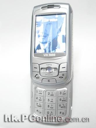 可做影音遥控器唯开百万像素手机VK900上市