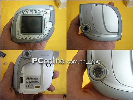 欲抢从速上海诺基亚另类造型手机7600到货