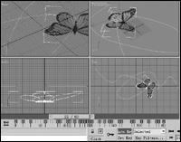 鲜花绿草蝶儿双双飞:3DSMax路径运动篇(2)