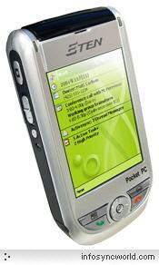 百万像素PPC手机添新丁E-TENM500发售