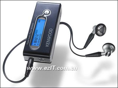 经典老品牌杀入数码市场健伍MP3即将上市