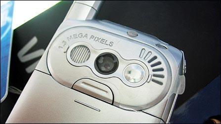 十项全能唯开百万像素MP3手机VK900上市(2)