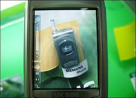 十项全能唯开百万像素MP3手机VK900上市(3)