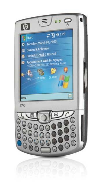 多扩展卡插槽设计惠普iPAQ智能手机图赏