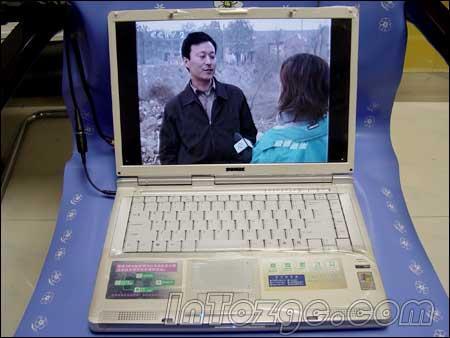 图为:接好电视天线-烧包必看 用本本电脑看电视的多种方法
