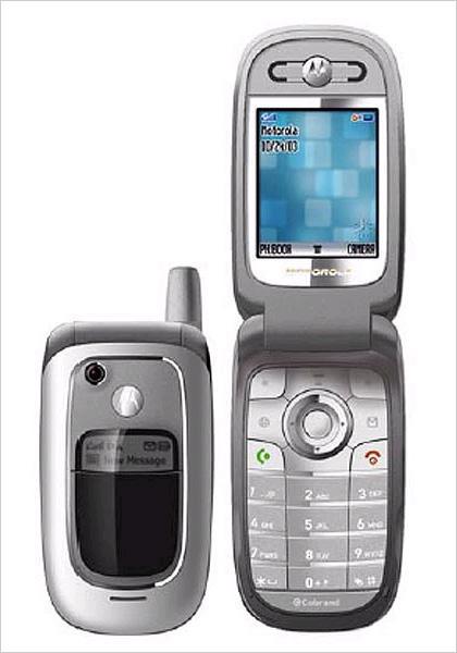 功能齐全摩托罗拉入门级手机V235亮相3GSM