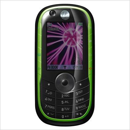 绿色大眼怪摩托罗拉3G手机E1060亮相3GSM