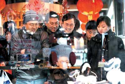 中关村电子市场商家盯紧压岁钱商机