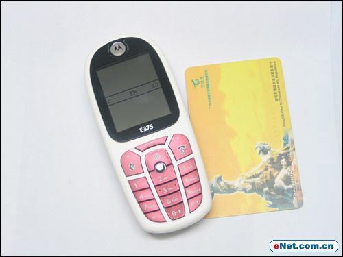 时尚经典新作摩托罗拉E375手机详细评测