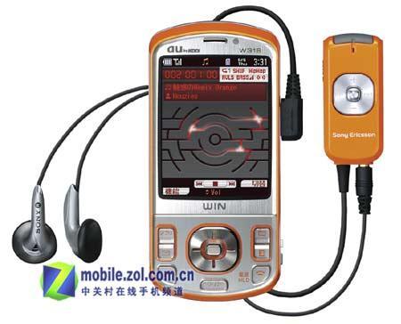 比W800c还专业索爱线控音乐手机登陆日本