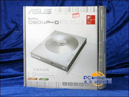 塑造科技艺术:华硕外置DVD刻录机测试