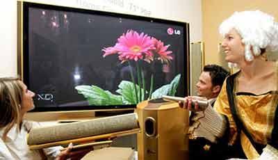 CeBIT2005:LG展示多款大屏液晶电视