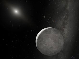 太阳系新成员之三:陌生来客--齐娜(组图)