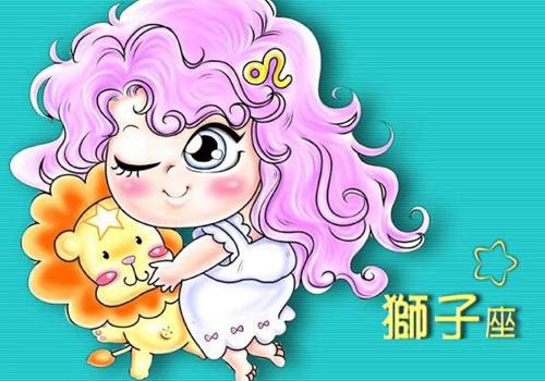 狮子座q版可爱女生(图)