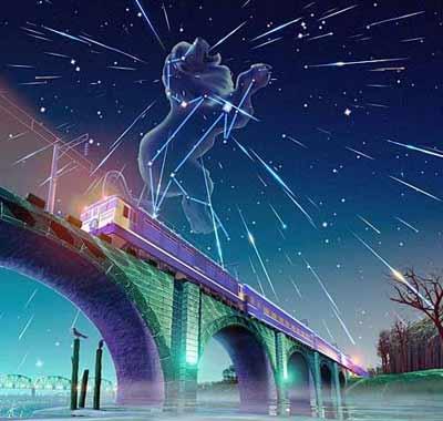 时尚:狮子座流星雨--天空的童话(图)
