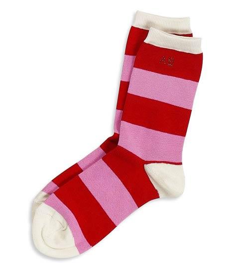 送给双鱼座的圣诞糖果袜子(组图)