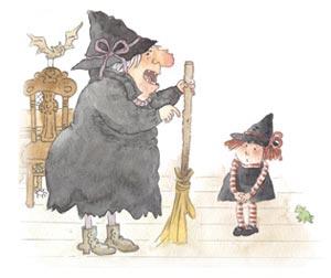小巫婆的大扫帚(3)