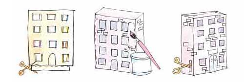 公寓楼制作步骤(图)