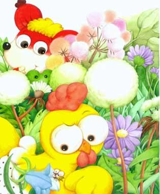 卡通可爱小蜜蜂简笔画-童话故事 小蜜蜂的进攻图片