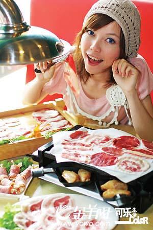 纸和肉之间的美味关系
