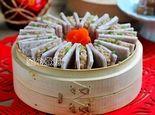 八珍盛宴原汁原味的香芋肉夹